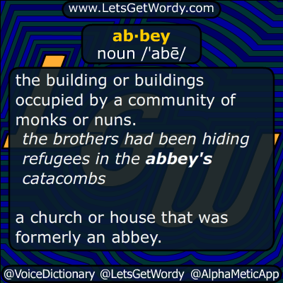 abbey 01/05/2014 GFX Definition