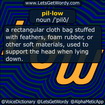 pillow 01/06/2016 GFX Definition