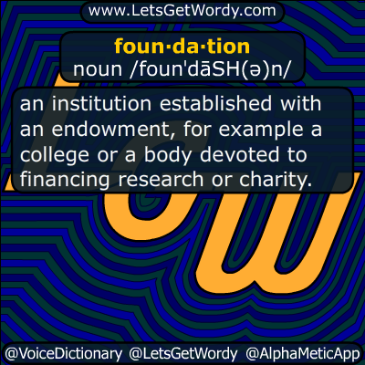 foundation 01/06/2018 GFX Definition
