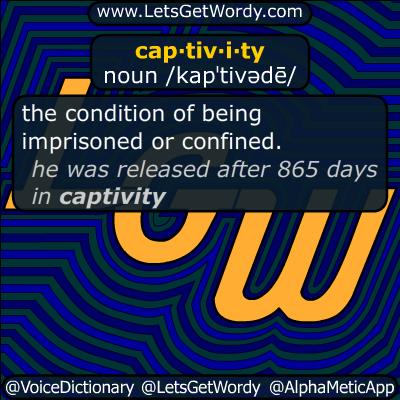 captivity 01/07/2017 GFX Definition