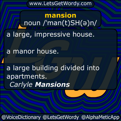mansion 01/10/2016 GFX Definition