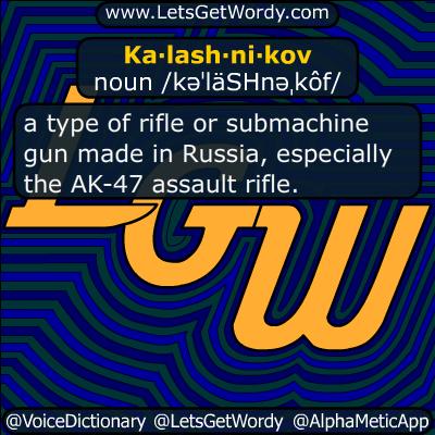 Kalashnikov 01/20/2016 GFX Definition