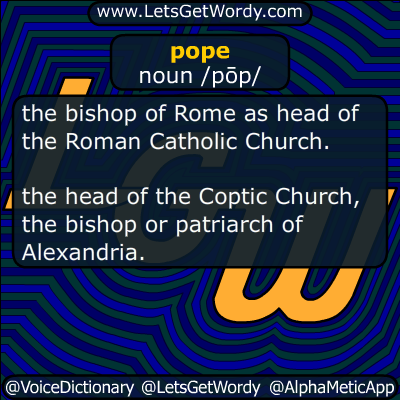 pope 02/13/2016 GFX Definition