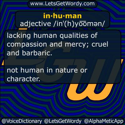 inhuman 04/05/2017 GFX Definition