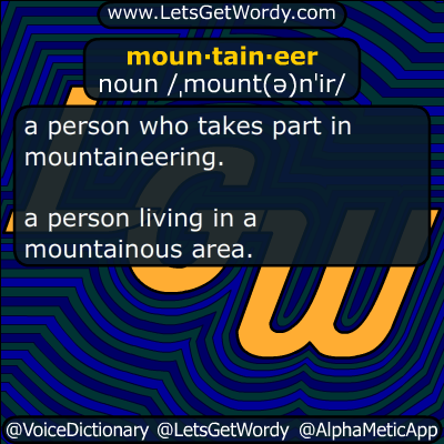mountaineer 05/01/2017 GFX Definition