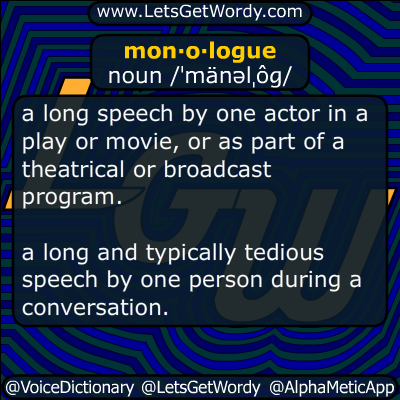 monologue 05/04/2017 GFX Definition