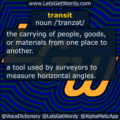 transit 05/10/2016 GFX Definition