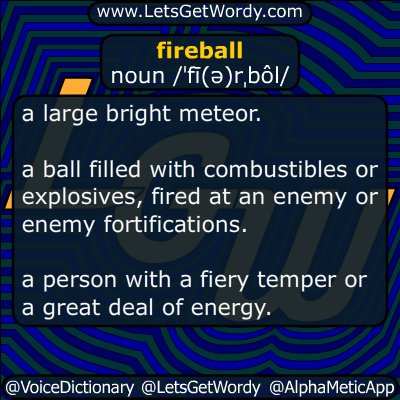 fireball 05/20/2016 GFX Definition
