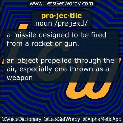 projectile 05/22/2017 GFX Definition