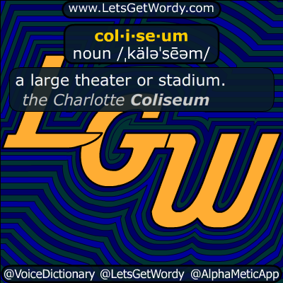 coliseum 05/27/2017 GFX Definition
