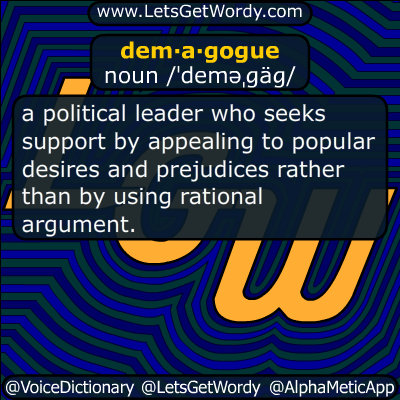 demagogue 06/01/2016 GFX Definition