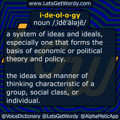 ideology 06/04/2017 GFX Definition