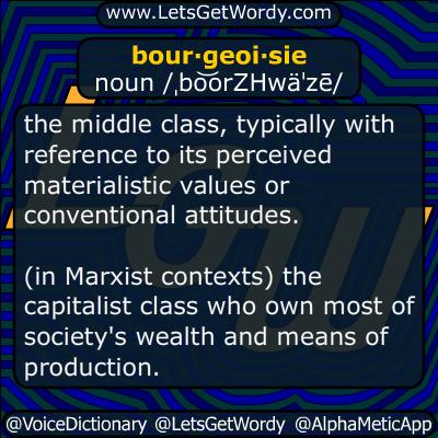 bourgeoisie 06/09/2016 GFX Definition