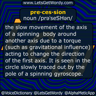 precession 06/22/2017 GFX Definition
