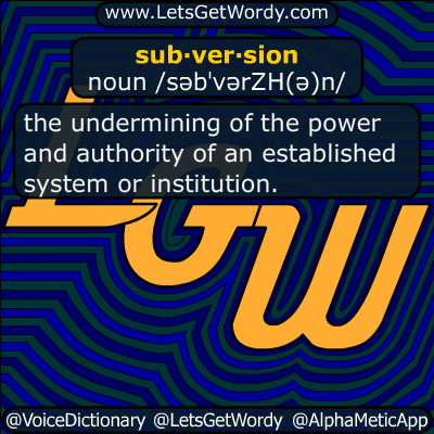 subversion 06/23/2017 GFX Definition
