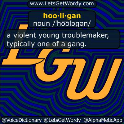 hooligan 07/16/2018 GFX Definition