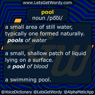 pool 07/20/2015 GFX Definition
