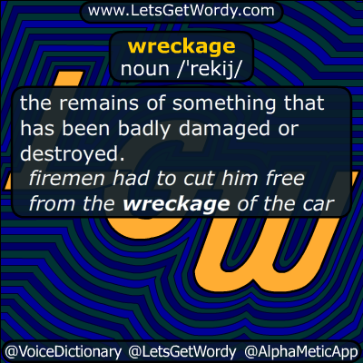 wreckage 07/30/2015 GFX Definition