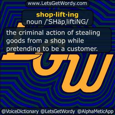 shoplifting 08/05/2015 GFX Definition