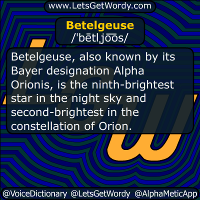 Betelgeuse 08/11/2015 GFX Definition
