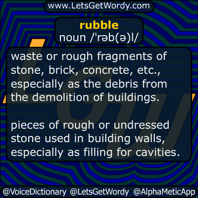rubble 08/24/2016 GFX Definition