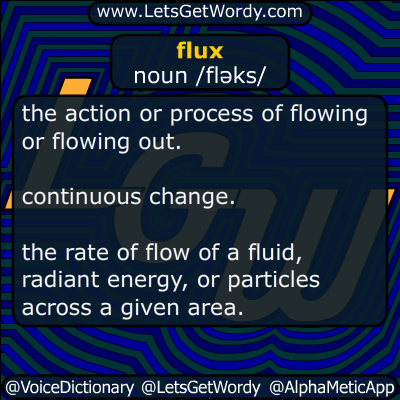 flux 08/25/2016 GFX Definition