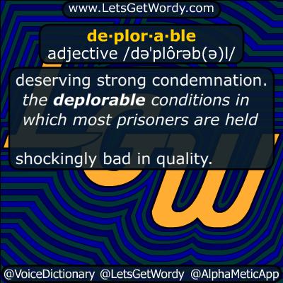 deplorable 09/12/2016 GFX Definition