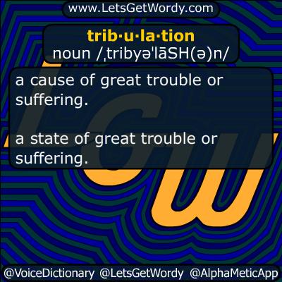 tribulation 09/22/2017 GFX Definition