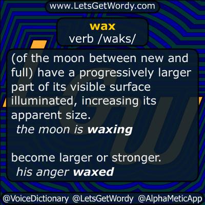 waxing 09/28/2015 GFX Definition