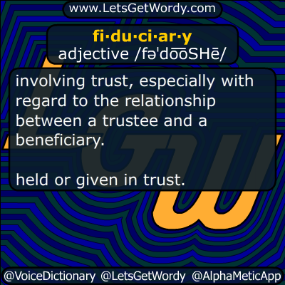fiduciary 10/03/2016 GFX Definition
