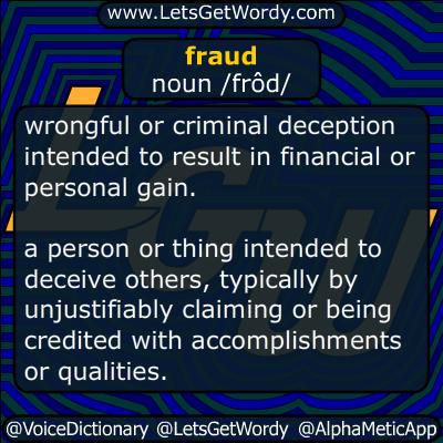 fraud 10/16/2015 GFX Definition
