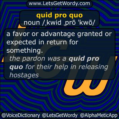 quid pro quo 10/18/2016 GFX Definition