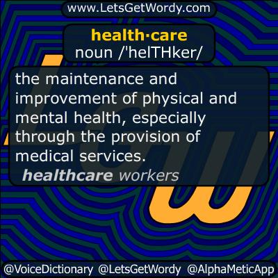 health care 10/26/2016 GFX Definition