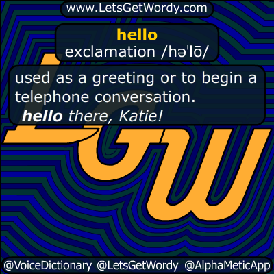 hello 10/30/2015 GFX Definition