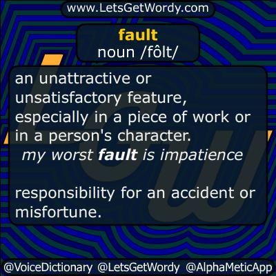 fault 11/03/2015 GFX Definition
