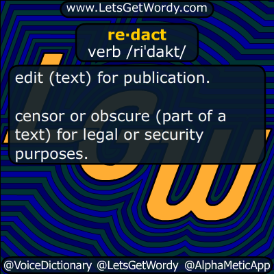 redact 11/03/2016 GFX Definition