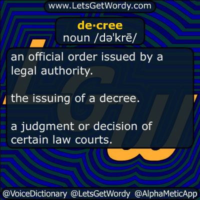 decree 11/04/2016 GFX Definition
