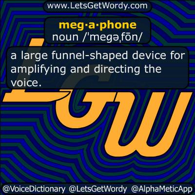megaphone 11/04/2017 GFX Definition