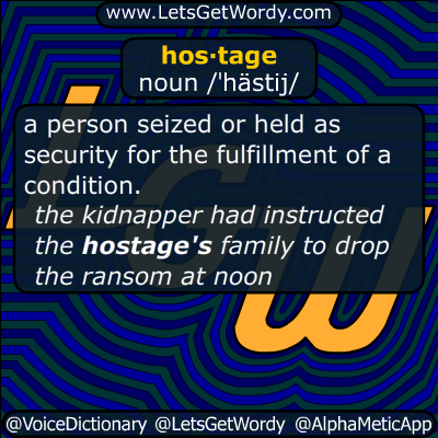 hostage 11/21/2015 GFX Definition
