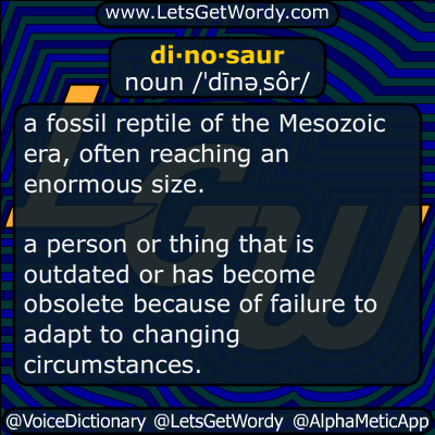dinosaur 11/22/2015 GFX Definition