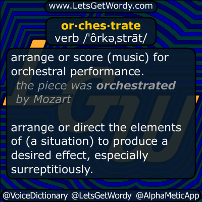 orchestrate 12/13/2014 GFX Definition