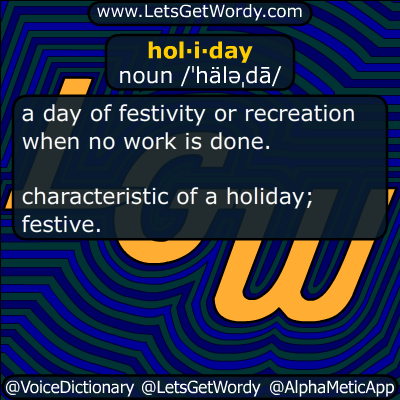 holiday 12/23/2016 GFX Definition