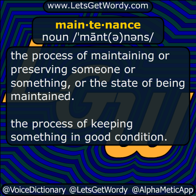 maintenance 12/29/2014 GFX Definition