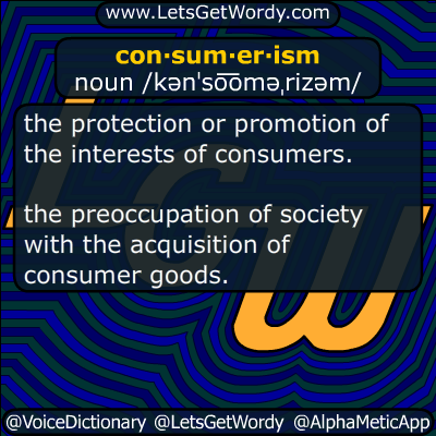consumerism 12/30/2015 GFX Definition
