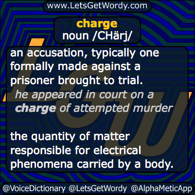 charge 01/06/2014 GFX Definition