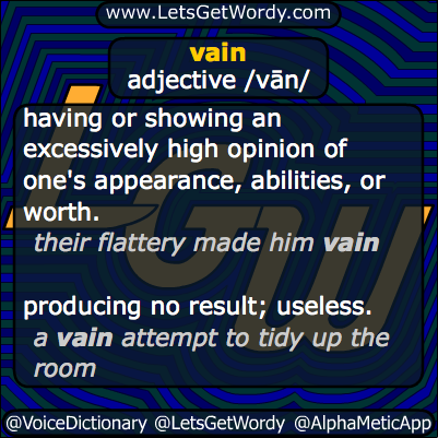vain 01/16/2014 GFX Definition