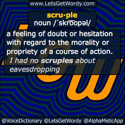 scruple 03/07/2014 GFX Definition