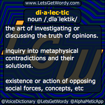 dialectic 03/13/2014 GFX Definition