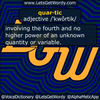 quartic 05/13/2014 GFX Definition