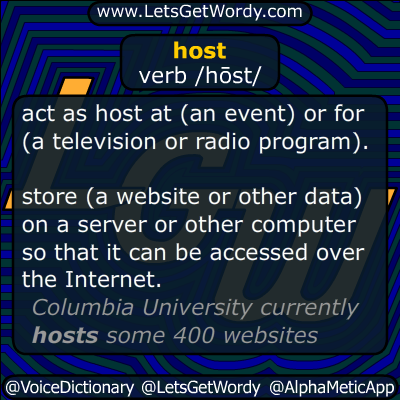 host 07/06/2014 GFX Definition
